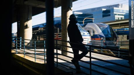 Biden's plan would help modernize Amtrak and repair railways.