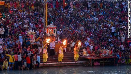 Mass religious festival goes ahead in India, despite Covid fears as country enters second wave