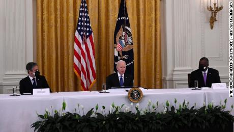 Top Biden national security officials brief Congress on Afghanistan withdrawal