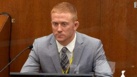 """Speaking of Floyd, paramedic Derek Smith testified, """"I thought he was dead."""""""