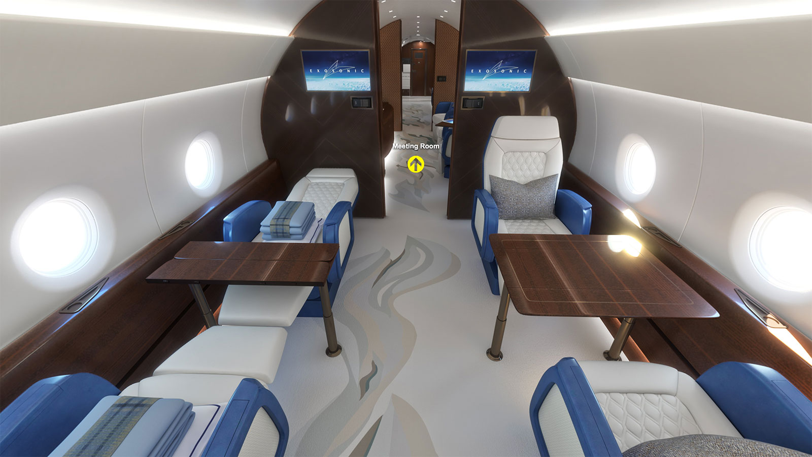 Exclusive Look At Designs For Us Supersonic Presidential Jet Cnn Travel