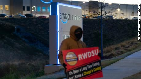 Amazon workers vote against union at Alabama warehouse