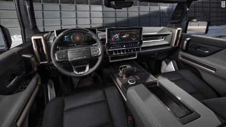 The GMC Hummer EV SUV will have removable roof panels.