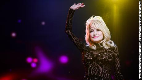 Dolly Parton attends the MusiCares Person of the Year tribute concert at the Los Angeles Convention Center on February 8, 2019.