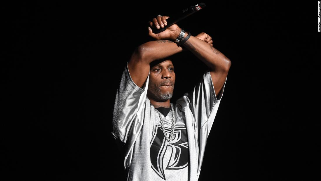 """<a href=""""https://www.cnn.com/2021/04/09/entertainment/dmx-rapper-dies/index.html"""" target=""""_blank"""">DMX,</a> a rapper known as much for his troubles as his music, died after being hospitalized following a heart attack, according to a statement released by his family on April 9. He was 50. The Grammy-nominated artist sold millions of albums, boosted by hits like """"Get At Me Dog"""" in 1998, """"Party Up"""" in 1999 and """"X Gon' Give It to Ya"""" in 2003."""