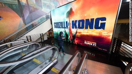 Movie theater stocks are roaring thanks to 'Godzilla vs. Kong'