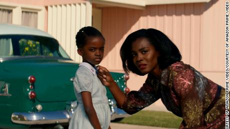 "(From left) Melody Hurd and Deborah Ayorinde are shown in the Amazon series ""Them."""
