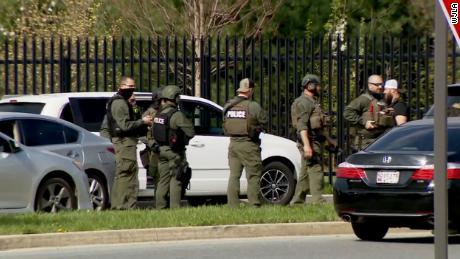 2 victims, suspect 'down' in Maryland shooting