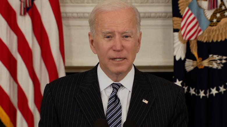 Joe Biden says everyone will be vaccine eligible April 19