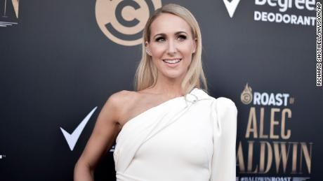 Nikki Glaeser participates in Alec Baldwin's Comedy Central Roast at the Saban Theater on September 7, 2019 in Beverly Hills, California.