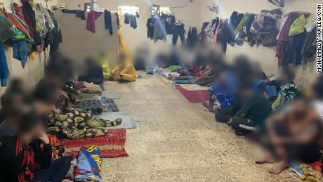 Iraq's prisons for drug offenders have double the number of inmates the facilities were intended for. CNN has blurred the inmates' faces to protect their identities.