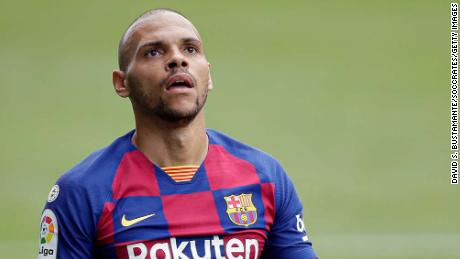 From English second division Middlesbrough to La Liga Minnows Leganes, Martin Braithwaite made the long journey to Barcelona.