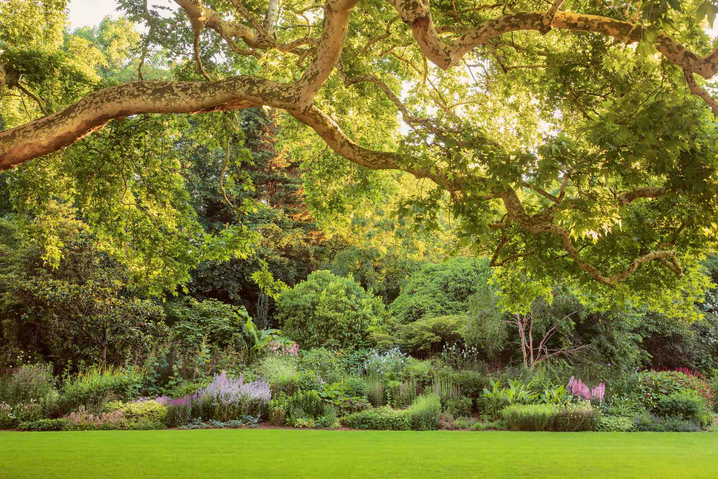 A striking 156-meter Herbaceous Border can be viewed within the gardens.