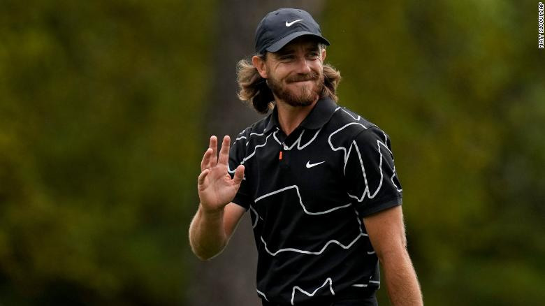 Tommy Fleetwood hits memorable hole-in-one at Masters