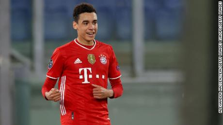 Jamal Musiala has worked his way into the first team of FC Bayern Munich this season.