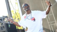 Rapper DMX performs onstage during the 10th Annual ONE Musicfest at Centennial Olympic Park on September 8, 2019, in Atlanta.
