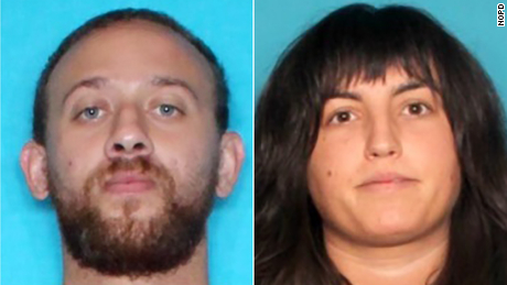 Stanley Warnick and Kathryn Diionno were arrested for the theft of the chair, the NOPD said.