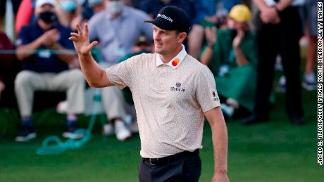 Justin Rose is in second place ahead of the last day in Augusta.