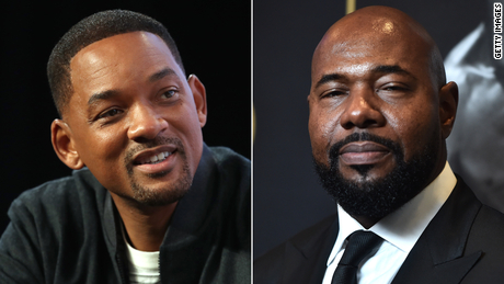 (From left) Will Smith and Antoine Fuqua have made their stand on Georgia's new voting restrictions.