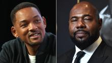 (From left) Will Smith and Antoine Fuqua have taken a stand on Georgia's new voting restrictions.
