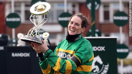 Rachael Blackmore won the Randox Grand National at Aintree Racecourse.