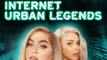 "(From left) Loey Lane and Eleanor ""Snitchery"" Barnes are the hosts of the Spotify series ""Internet Urban Legends."""