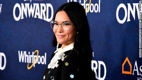 "Ali Wong attends the premiere of Disney and Pixar's ""Onward"" on February 18, 2020, in Hollywood, California."