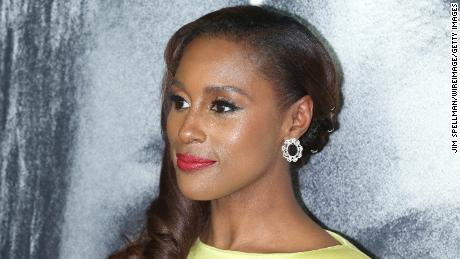 "Issa Rae at the premiere of ""The Photograph"" in February 2020 in New York City."