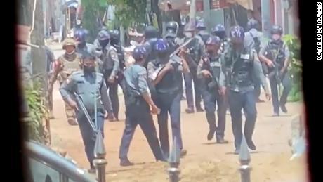 Witnesses to Bago killings describe relentless military onslaught against Myanmar civilian population