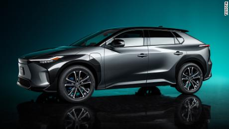 The Toyota BZ4X is being jointly developed by Toyota and Subaru.