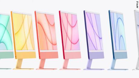 iMac's new design