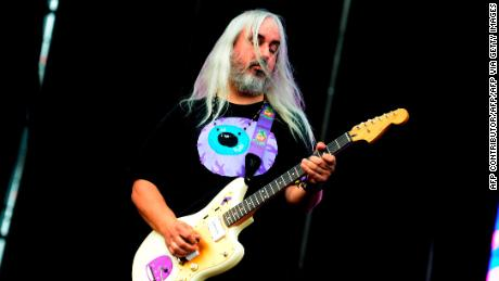 Dinosaur Jr. leader J Mascis performs during the Benicassim International Festival in Valencia, Spain, July 15, 2017.