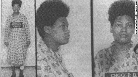 Akua Njeri, then Deborah Johnson, was charged after the 1969 raid that killed the father of her son.