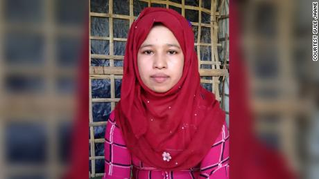 Noor asked her mother for money to pay traffickers to transport her to Malaysia.