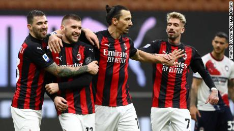 Even with Ibrahimović's age, AC Milan are the youngest squad in Serie A.
