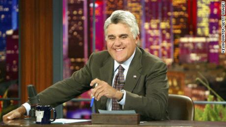 """Jay Leno appears on """"The Tonight Show"""" on July 7, 2004."""