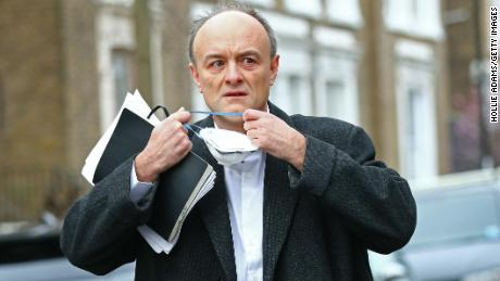 Dominic Cummings  quit his post last November amid the UK's deadly second wave of the pandemic.