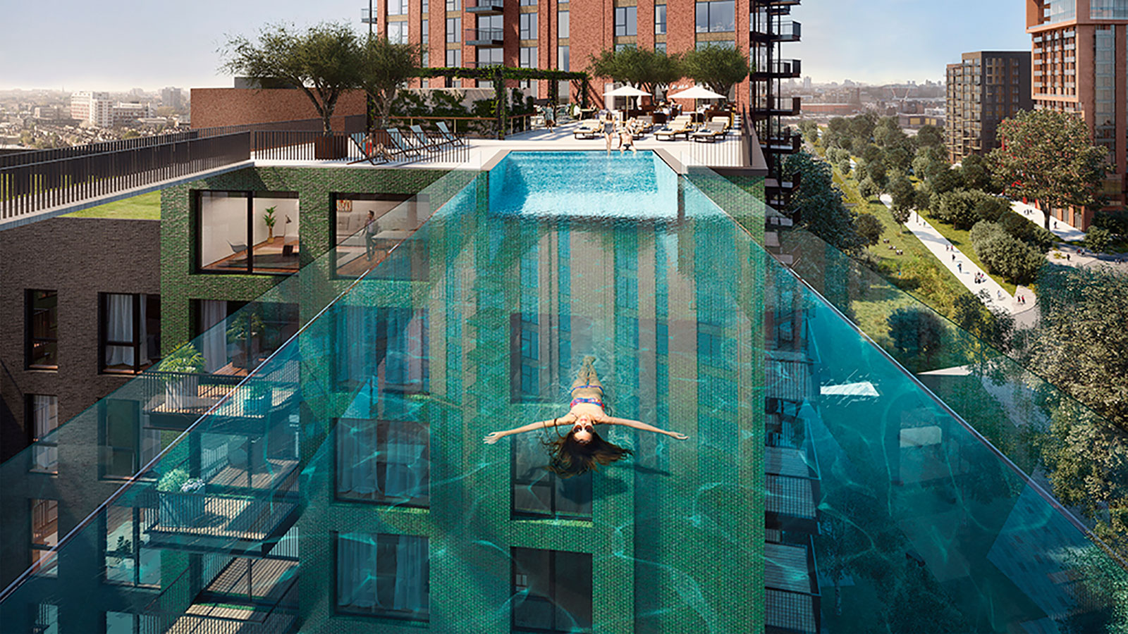 London's new see-through Sky Pool is first of its kind   CNN Travel