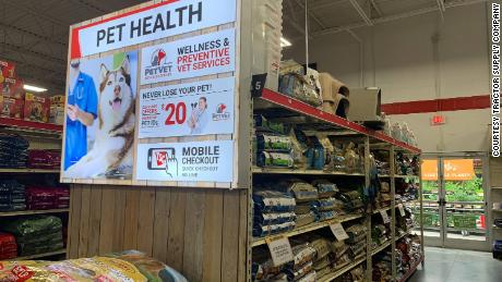 Tractor Supply says 25% of its customers have recently bought a new pet.