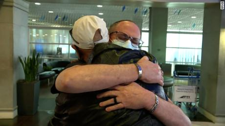 He was adopted months after he was born. After decades of searching, he's finally met his birth family