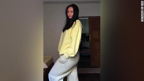 An undated photo of dance teacher Khin Nyein Thu.