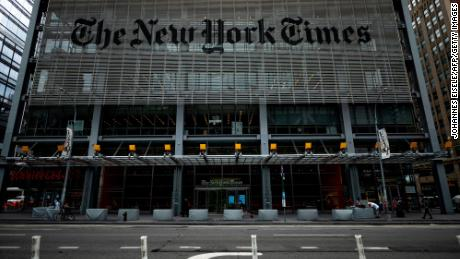 New York Times reports Trump administration secretly obtained its reporters' phone records