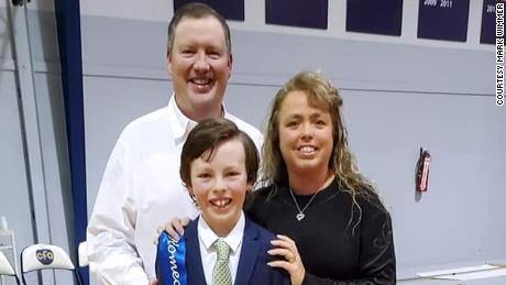 Mike Wimmer and his family.