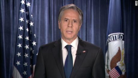 Blinken says that the US withdrawal from Afghanistan is the mindset of the