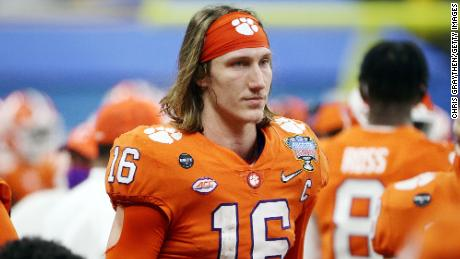 Trevor Lawrence has made a name for himself for the Clemson Tigers, and many see him as the top pick.