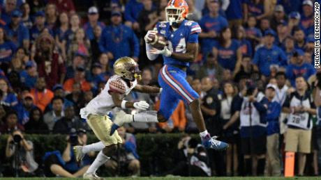 Florida tight end Kyle Pitts could be a favorite after the quarterfinals.