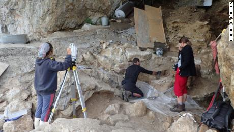 Researchers on the hunt for ancient human DNA took dirt samples from Chagyrskaya Cave in the Altai Mountains of southern Siberia.