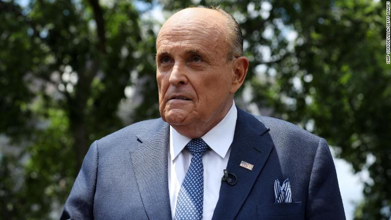 Federal agents execute search warrant on Rudy Giuliani's apartment