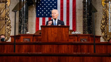 Joe Biden warns democracy is still threatened and Trump's looming shadow proves it