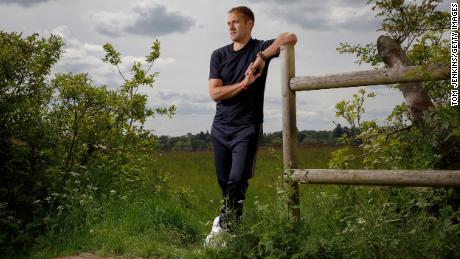 Petrov, poses for a picture in Lapworth in Warwickshire.